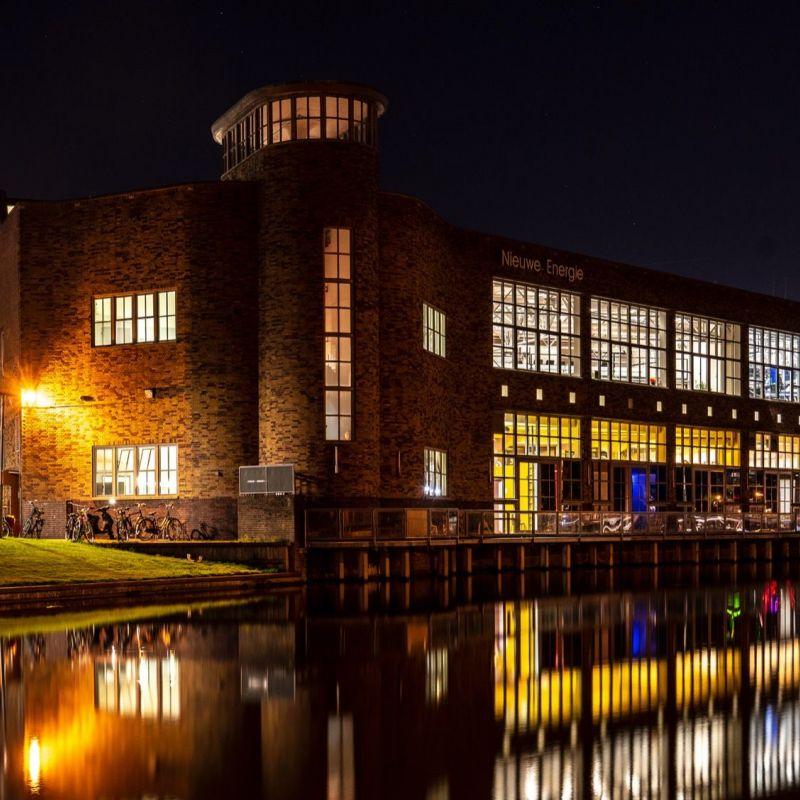 <strong>Leiden</strong><br><p>Nieuwe energie a/d Maresingel</p>