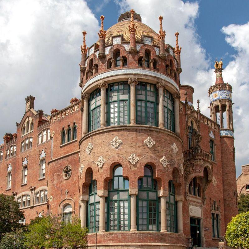 <strong>Spanje</strong><br><p>Barcelona Hospital de Sant Pau</p>
