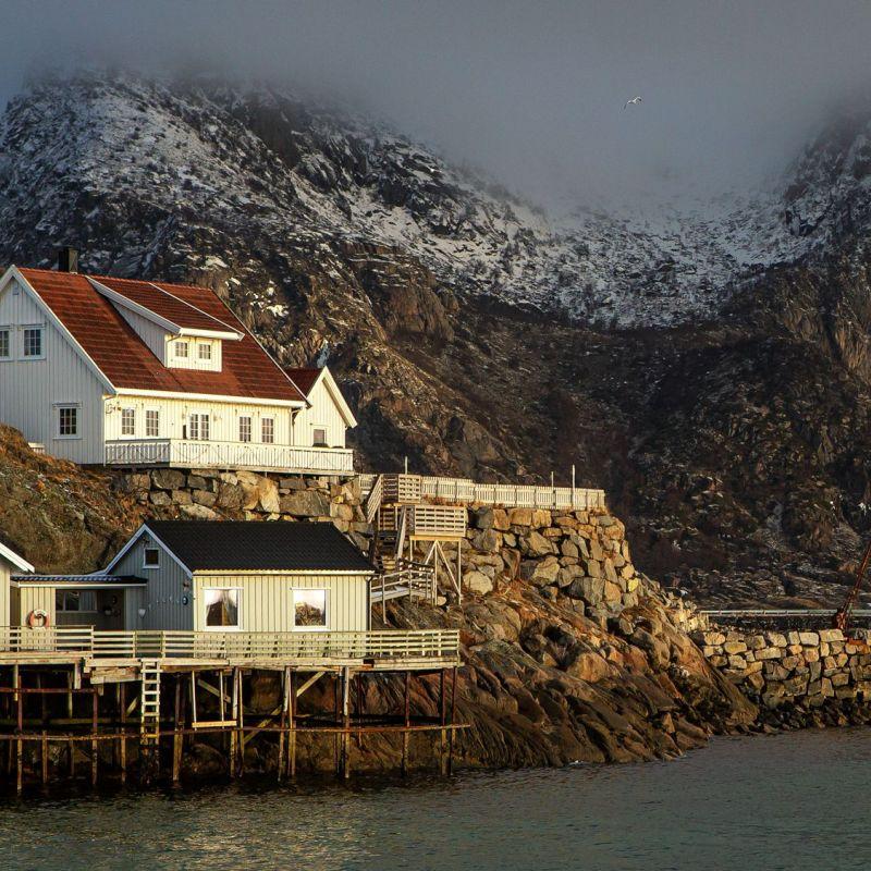<strong>Noorwegen</strong><br><p>Lofoten - Henningsvaer</p>