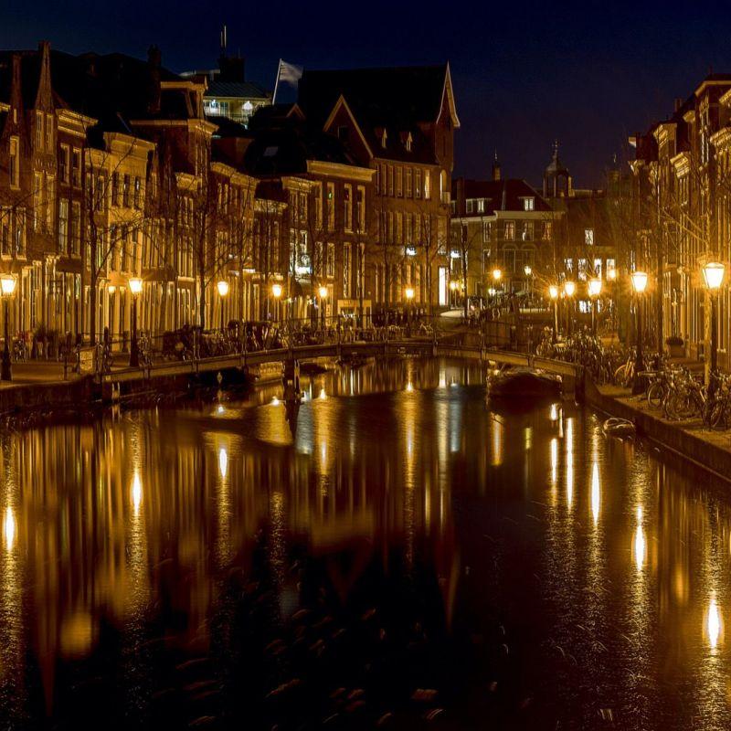 <strong>Leiden</strong><br><p>Oude Rijn</p>