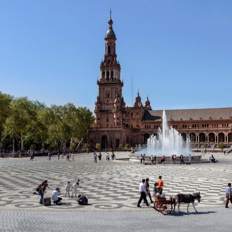 <strong>Spanje</strong><br><p>Sevilla, terrein van de voormalige wereldtentoonstelling</p>