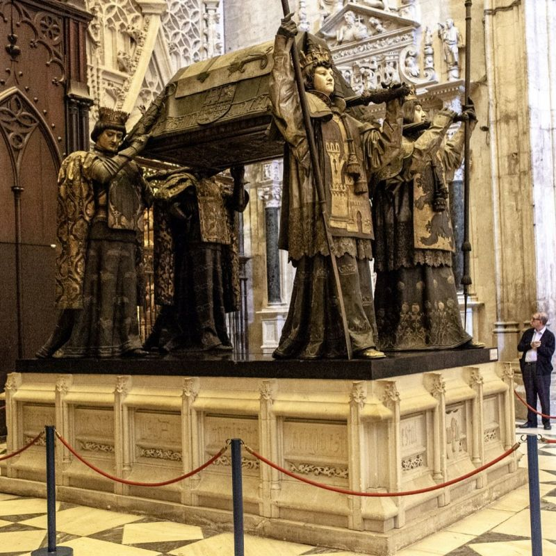 <strong>Spanje</strong><br><p>Sevilla, graftombe Cristoffel Columbus</p>