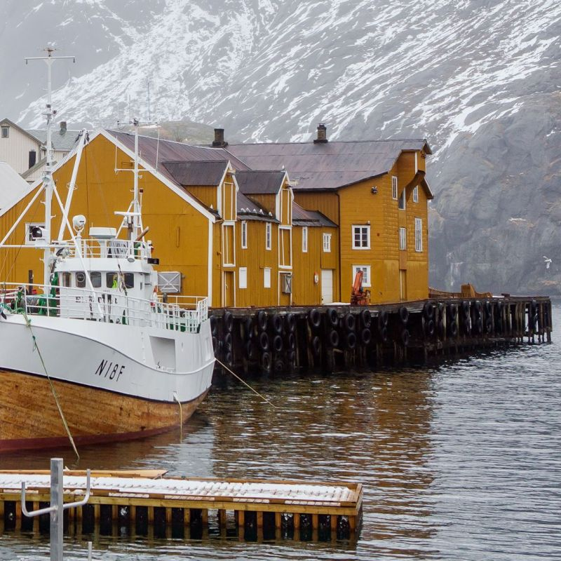 <strong>Noorwegen</strong><br><p>Lofoten - Nussfjord</p>