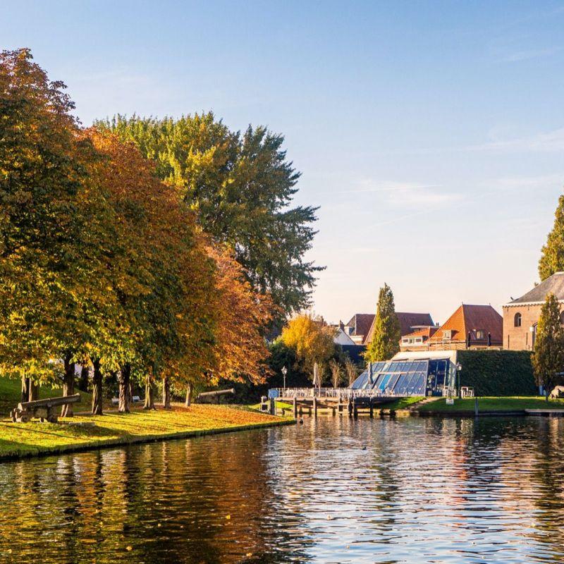 <strong>Leiden</strong><br><p>Zijlpoort met Ankerpark</p>