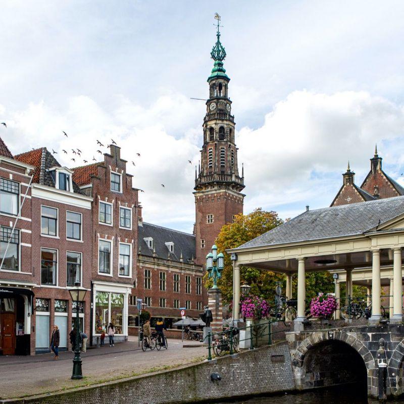 <strong>Leiden</strong><br><p>Korenbeurs - Stadhuis</p>